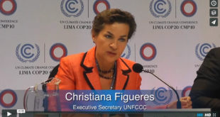 Mother Channel – www.motherchannel.com - COP20 Christiana Figueres UNFCCC