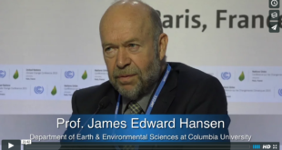 Mother Channel – www.motherchannel.com - COP 21 Prof James Hansen