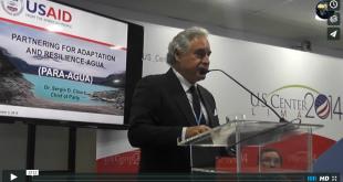 COP21-Dr. Sergio D. Claure Presentation Image