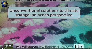 Mother Channel | Oceans in Crisis Dr P Williamson